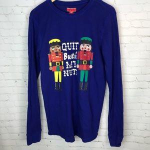 Quit Bustin' My Nuts Nutcracker Christmas Shirt