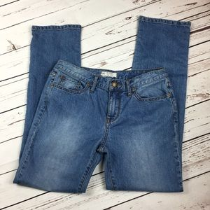 Free People Straight Leg Jeans Size 28