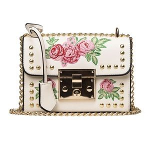 Handbags - !!LAST ONE!! Small Shoulder Flower Embroidery Bag