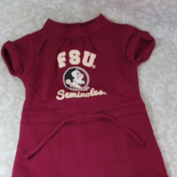 Cheekie Peach Dresses Nwt Ncaa Florida State Seminoles Dress 5t
