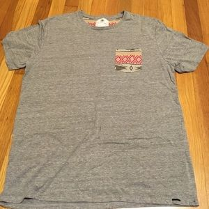 On The Byas gray t-shirt