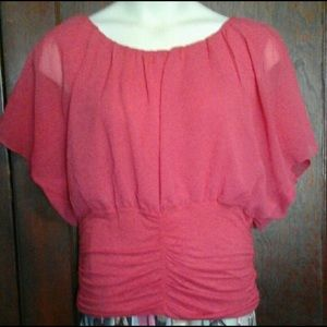 Gorgeous coral top