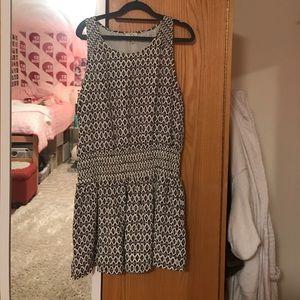 Joie cinch waist sleeveless dress