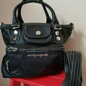 Marc Jacobs black school girl satchel