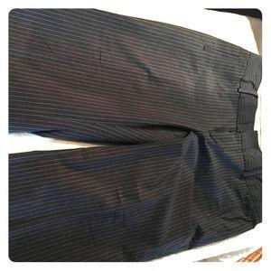 Banana Republic JACKSON fit navy pinstripe pants