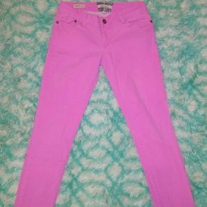 Hot Kiss Size7 skinny Lily pink skinny jeans