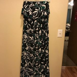 Strapless Floral Maxi Dress from GAP