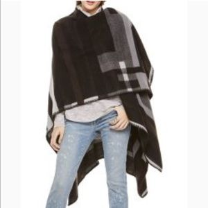 Vince Camuto Wrap Cape Wool 2 by Vince Camuto