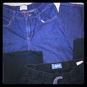 Boys jeans from Children's Place and Old Navy