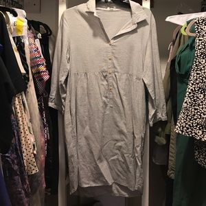 Steven Alan long sleeve collared dress