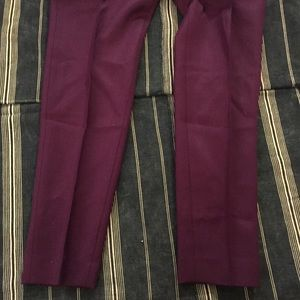 7397f972304da COS Pants | Royal Purple Wool Trousers | Poshmark