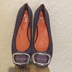Jeffrey Campbell Villain Purple Flats Size 8.5