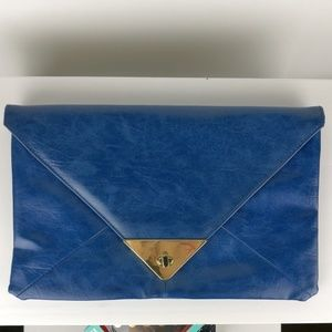 Asos royal blue clutch / enveloppe. As NEW