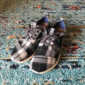 TOMS Plaid Del Ray Sneakers