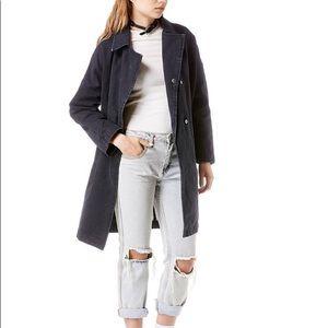 RARE UNIF Decibel Jacket Long Canvas Utility Coat