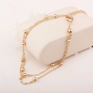 5 for $25 Link Chain Anklet