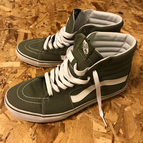 427c1966efd5 Vans Other - Vans Ks8-Hi winter moss green   white - Men s 8