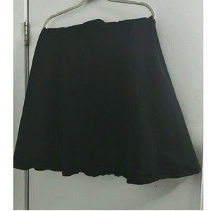 Black Torrid Circle Skirt
