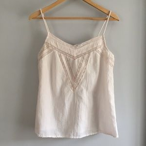 Light Pink Cami with Lace Detail