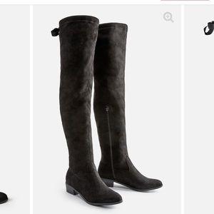 Orli Flat Boot in Black size 6.5