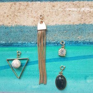Four pendants