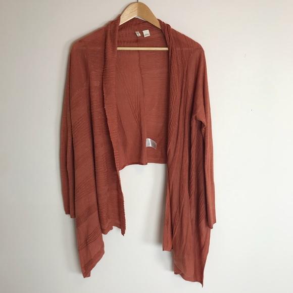 73% off Anthropologie Sweaters - Anthropologie Moth Burnt Orange ...