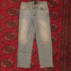 ASOS Petite Light Wash Jeans size 25