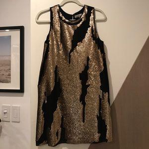 Robert Rodriguez sequin sheath dress