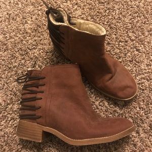 Coolway lace-up booties