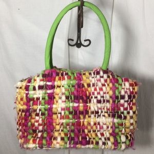 two's company Bags - Yarn handbag with flower
