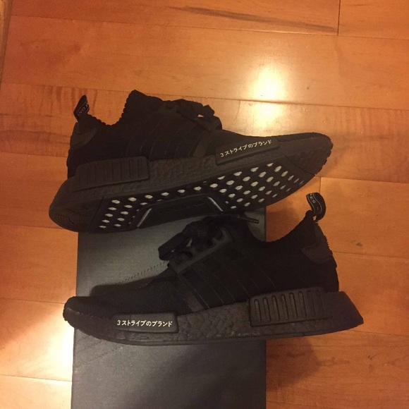 a5581ad5064135 adidas Shoes - Adidas NMD R1 Japan Triple black primeknit
