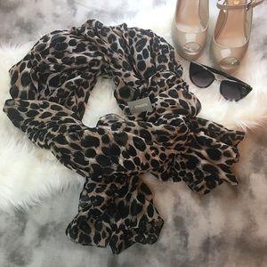 Accessories - Chico's leopard print scarf