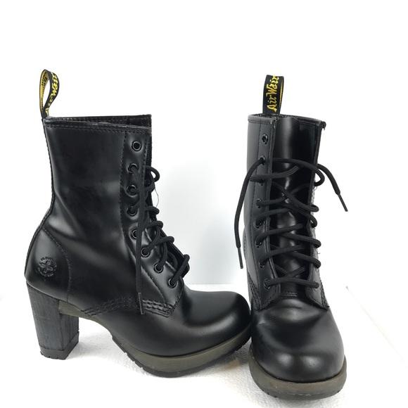 Dr Martens Darcie Air Wair Black Boots