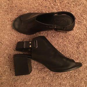 Top shop open toed heels