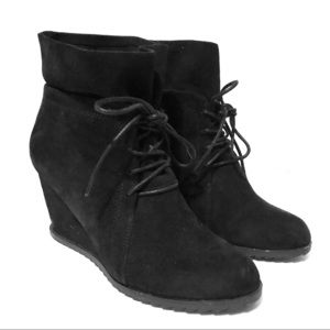 Kenneth Cole Gentle Souls ankle wedge boots
