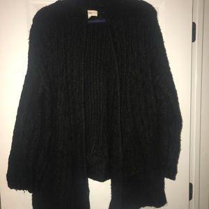 Black heavy sweater