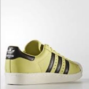 separation shoes aeebf 9530c adidas Shoes - Men's adidas Superstar Boost Shoes in Bliss Lime