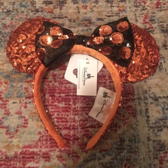 disneyland limited edition halloween minnie ears