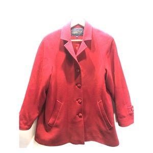 Pendleton pea coat size 10