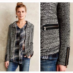 Anthropologie Newry Knit Blazer