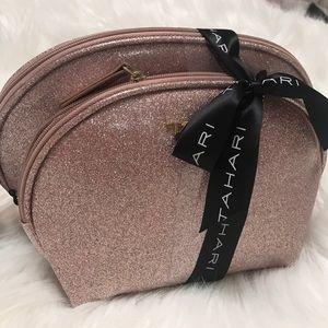 Tahari Makeup Gorgeous Rose Gold Bag Poshmark