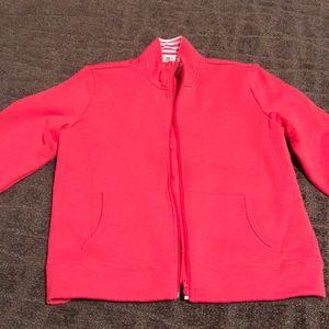 NWOT Super cute zip up collared sweatshirt!
