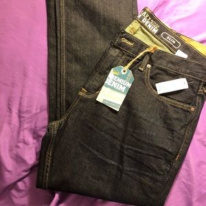 Brand New Men's Old Navy Premium Slim Jeans 36x32