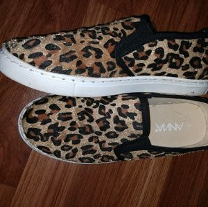 97814800b59d Anna Shoes | Sale Leopard Animal Print Slide Ons 8 | Poshmark