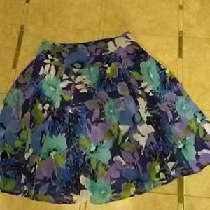 Sunny leigh lined skirt
