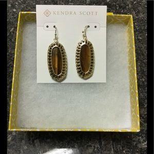Kendra Scott Tiger Eye Dayla Earrings