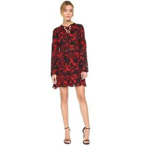 ✨New✨[Parker] Silk Flared Sleeve Dress NWT
