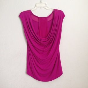 Vince Camuto hot pink top  NWOT