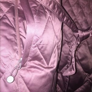 Eddie Bauer Quilted Anorak - XXL in Dusty Rose