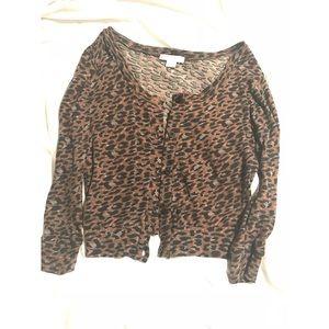 Cotton On Leopard Cardigan